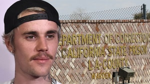Justin Bieber Visits L.A. Prison to Spread the Word of God