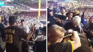 Dodgers Fan Wants Smoke from Padres Fan, Proceeds to Get Ass Beat