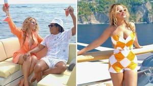 Beyonce's Boatin' Family Photos