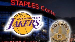 Lakers Fan Sues LAPD Cop, You Shot Me In the Head W/ A Rubber Bullet