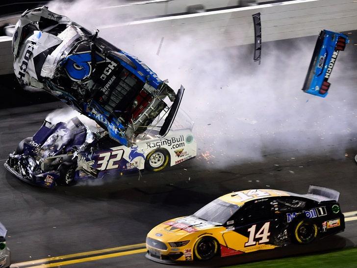 Ryan Newman's Horrible Daytona 500 Crash Scene