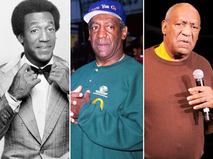 Bill Cosby -- Through The Years