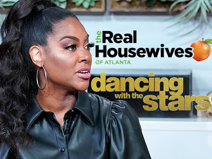 kenya moore the real housewives of atlanta dancing with the stars