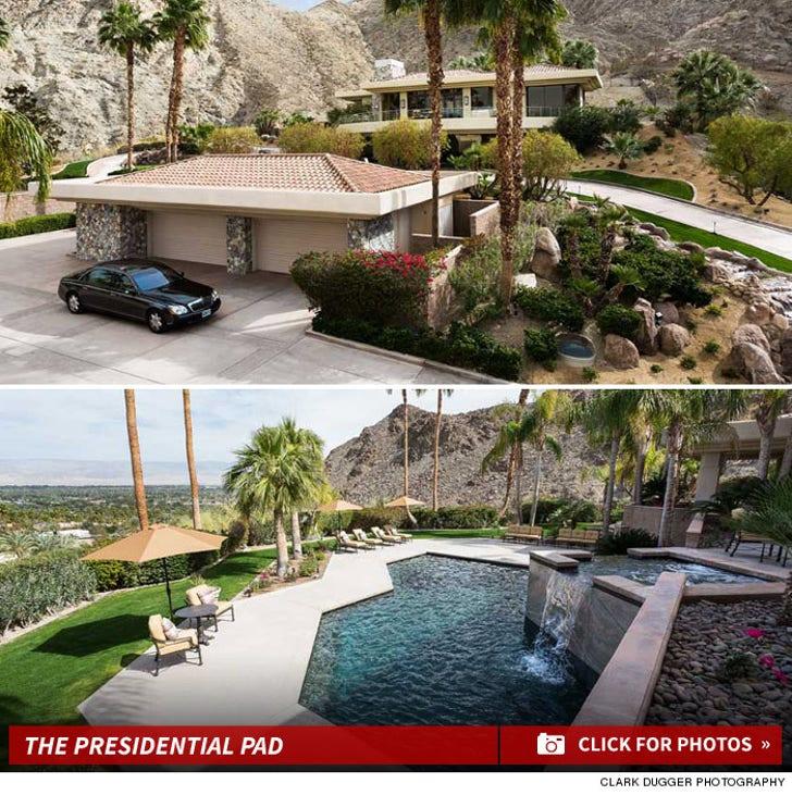 President Obama -- NOT Buying Rancho Mirage House