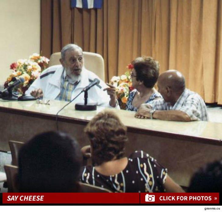 Fidel Castro -- Say Cheese