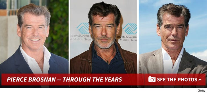 Pierce Brosnan -- Through the Years