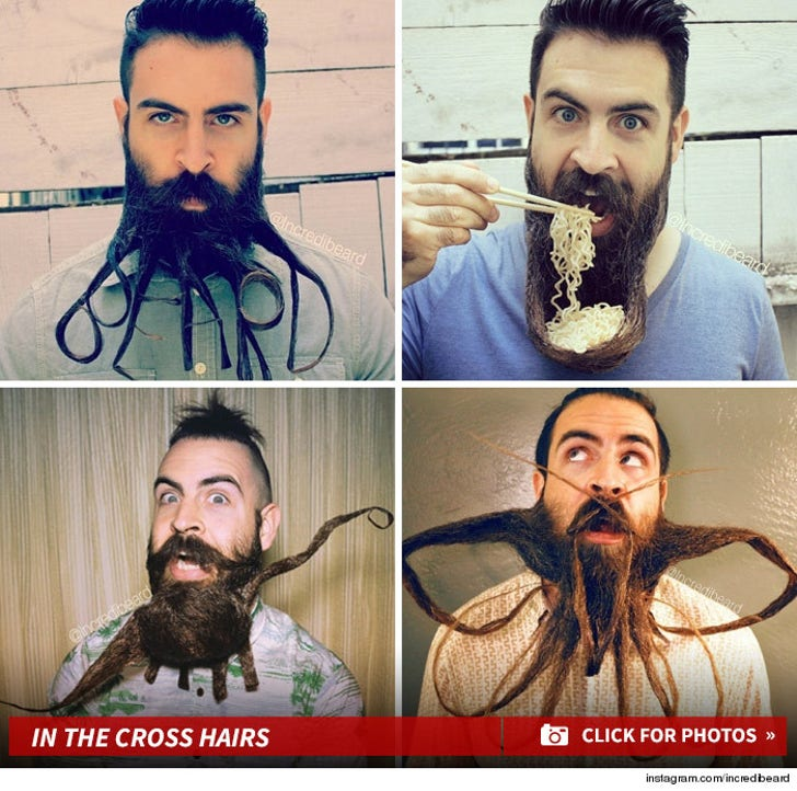 In the Cross Hairs -- Incredibeard Instagram Account