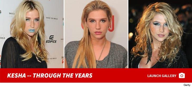Kesha -- Through The Years