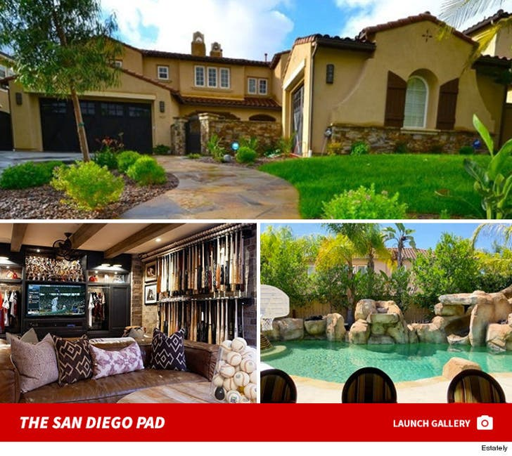 San Diego Padres Closer Heath Bell Lists Home