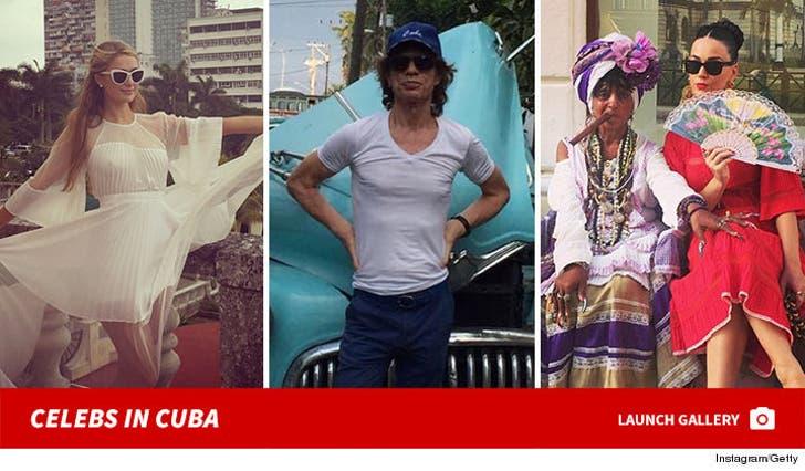 Celebrities in Cuba