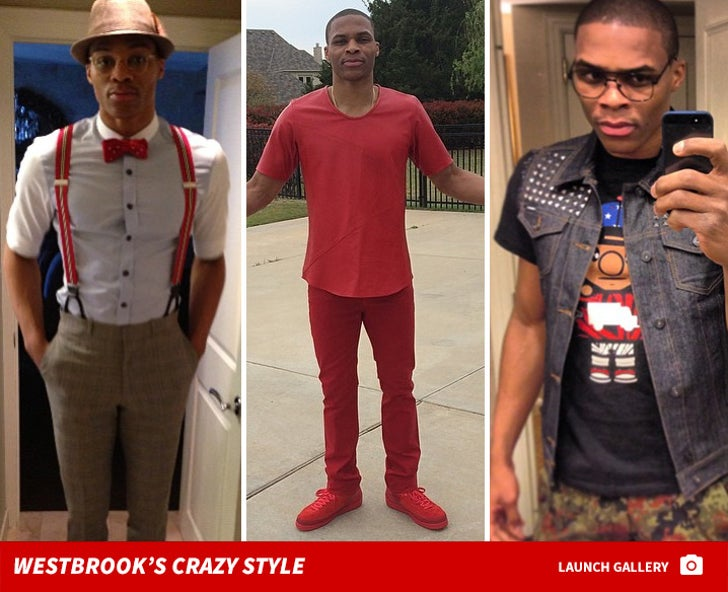 Russell Westbrook's Crazy Style