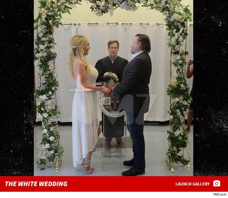 Mary Carey Wedding Photos