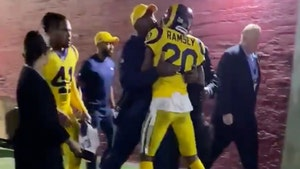 Jalen Ramsey In Near Brawl With Marcus Peters, Held Back By Rams Staffers