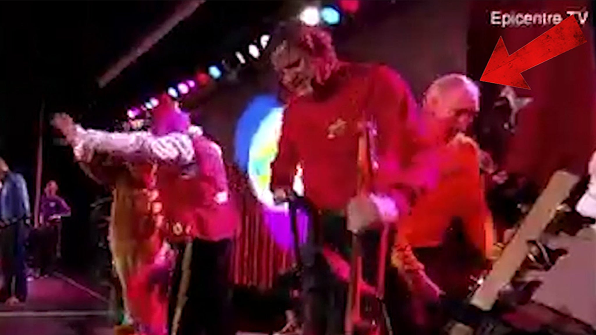 The Wiggles Star Greg Page Collapses at Bushfire Relief Show