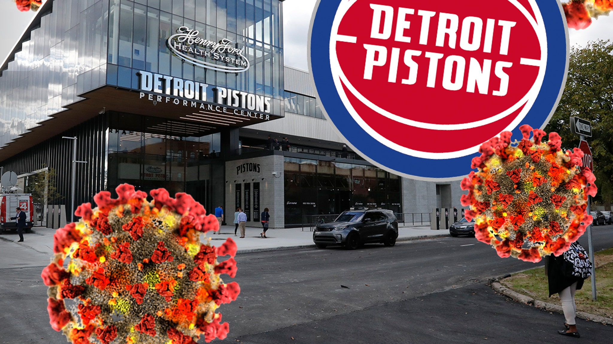 Detroit Pistons Offer Up New Performance Center for COVID-19 Uses