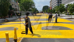 Huge Black Lives Matter Street Mural Painted Near White House