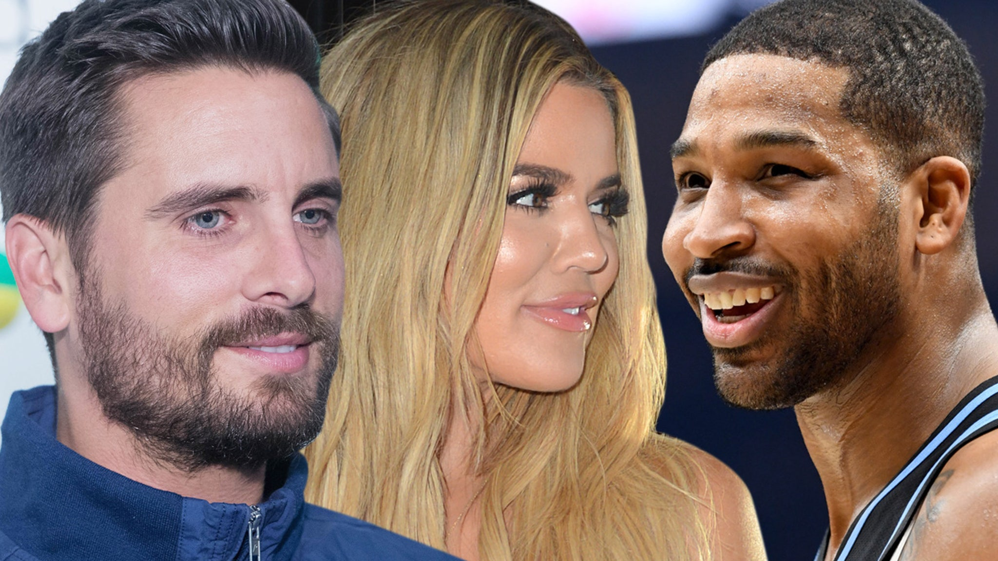 Scott Disick Spills the Tea on Khloe & Tristan ... They're Back Together!!!