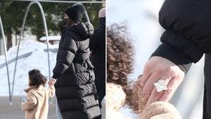 Khloe Kardashian Wearing Massive Engagement-Like Ring With Tristan Thompson