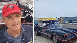 Doug Flutie Zips His Batmobile Around Tampa, Ultimate Super Bowl Flex!