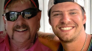 Joe Exotic Says Husband Dillon Agreed to Stay Married for Now