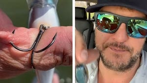 Luke Bryan Hooks His Own Hand in Gruesome Fishing Accident