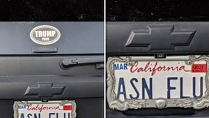 California SUV with 'ASN FLU' License Plates Sparks Outrage