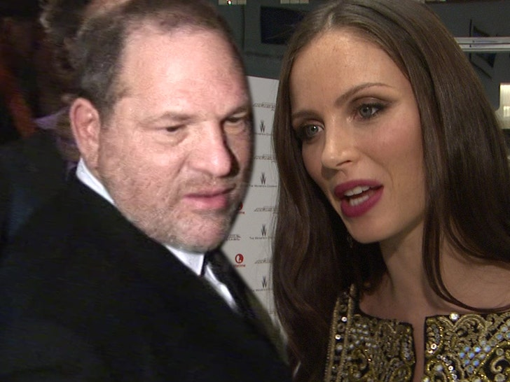 Harvey Weinstein and Georgina Chapman getting divorced