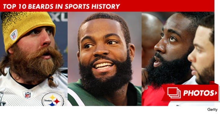 Top 10 Beards in Sports History