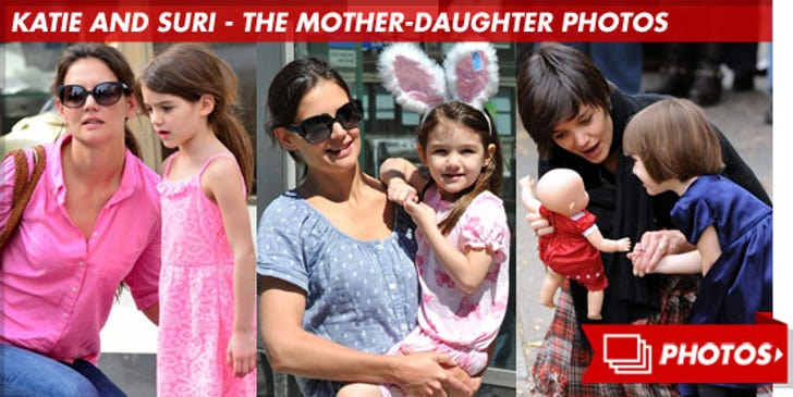 Katie and Suri -- The Mother- Daughter Photos