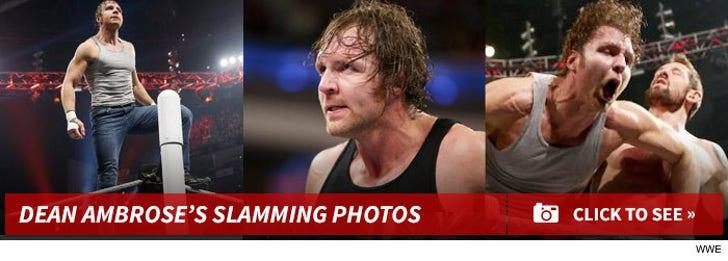 Dean Ambrose Slamming Photos