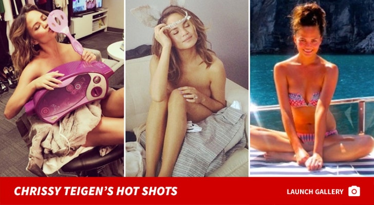 Chrissy Teigen's Hot Shots