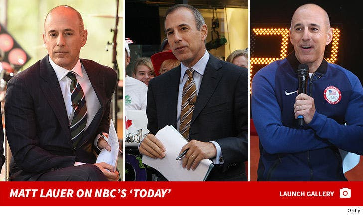 Matt Lauer on NBC's 'Today'