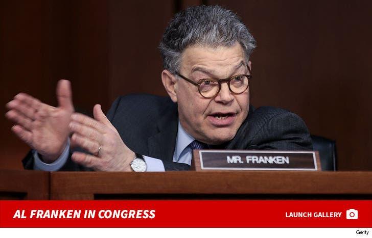 Al Franken In Congress