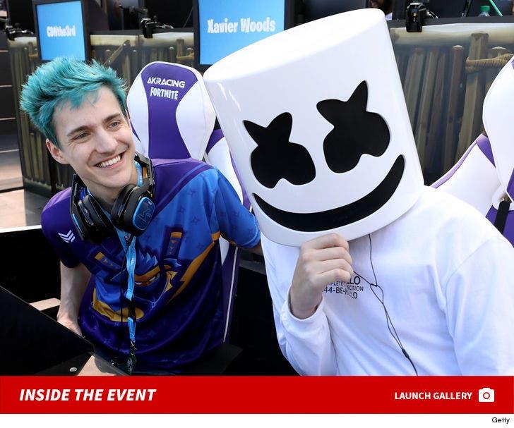 Celebs at Fortnite E3 Pro-Am