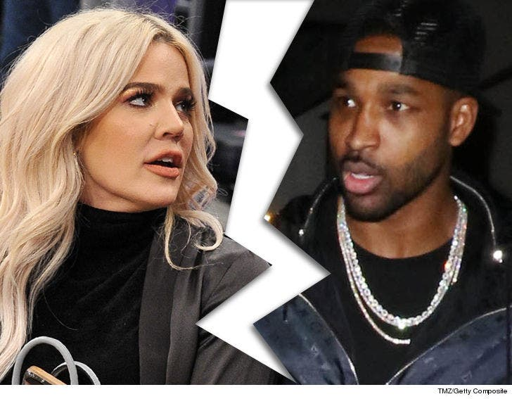 Khloe Kardashian Splits With Tristan For Allegedly Cheating