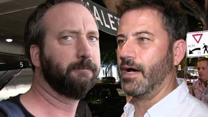 Tom Green Slams Jimmy Kimmel for Stealing House Painting Bit