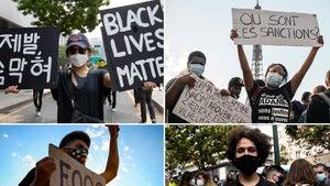 Black Lives Matter Signs Take Over the World After George Floyd Death