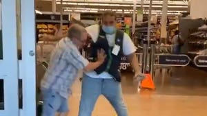Old Man Fights His Way Into Walmart Without a Mask, Gets Kicked Out