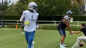 Antonio Brown Works Out With Russell Wilson, Seahawks Preview?!