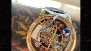 Conor McGregor Celebrates 32nd Birthday With $620k 'Casino' Watch!!!