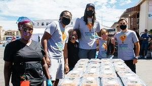 NBA's DeAndre Jordan Surprises 200 COVID-19 Frontline Workers With Meals