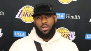 LeBron James Gives Big Praise to LaMelo Ball, He's 'Damn Good' for His Age