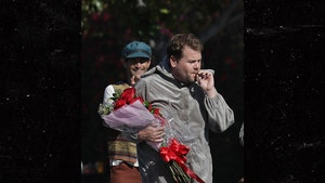James Corden Smokes COVID-Risky Blunt During Camila Cabello 'Cinderella' Skit