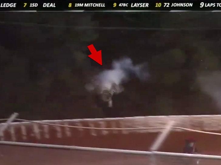 80f9bad06 Dale Earnhardt Jr.'s Niece Uninjured After Horrifying Crash At Race ...