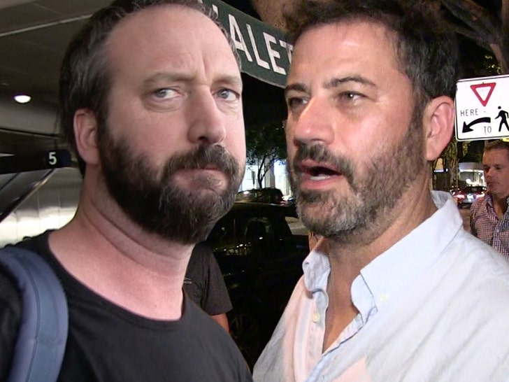Tom Green Slams Jimmy Kimmel for Stealing House Painting Bit