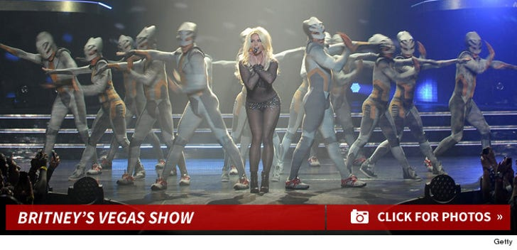 Britney Spears' Vegas Performance Photos
