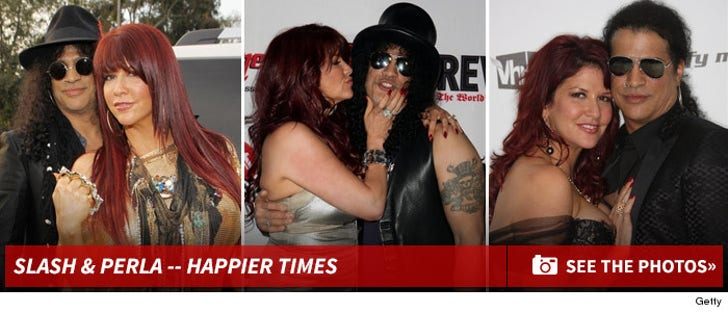 Slash and Perla Ferrar -- Happier Times