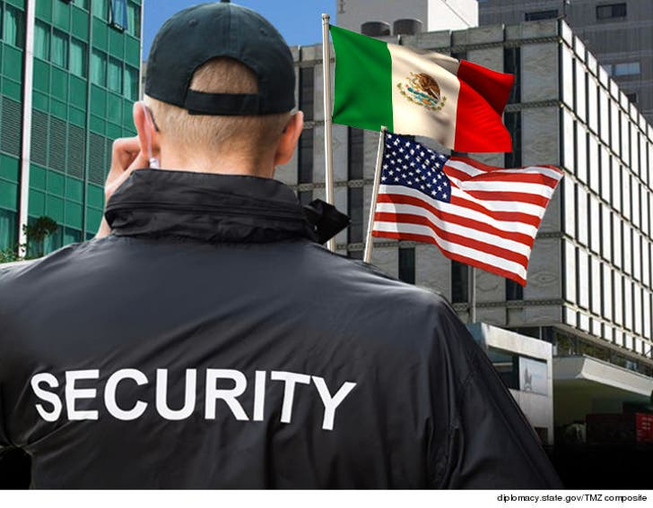 U S  Embassy in Mexico Urgently Needs Security to Protect