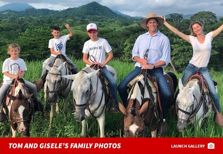 Tom Brady and Gisele Bundchen's Family Photos