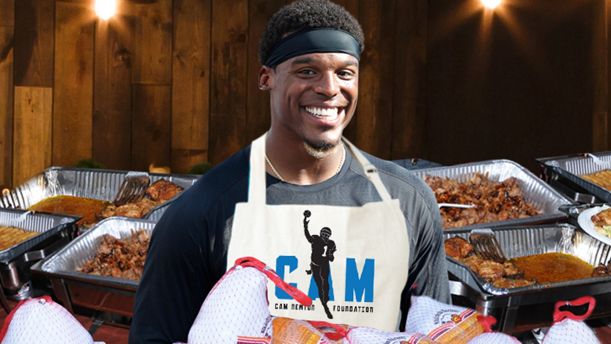 fd962295 Cam Newton Buying Thanksgiving Meals for 1,200 Underprivileged Kids